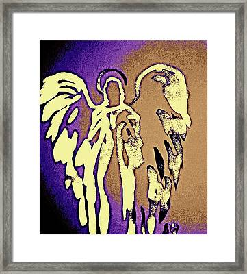 Angels Of Light - Earth Framed Print