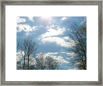 Framed Print featuring the photograph Angels On High by Pamela Hyde Wilson