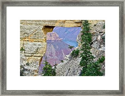 Angel's Window Four Framed Print