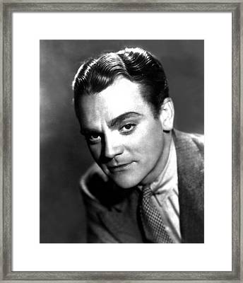 Angels With Dirty Faces, James Cagney Framed Print by Everett