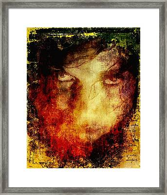 Anger Framed Print by Gun Legler