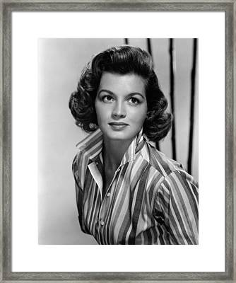 Angie Dickinson, Ca. 1958 Framed Print