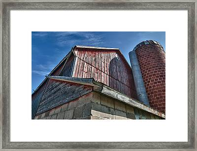 Angles 12271c Framed Print by Guy Whiteley