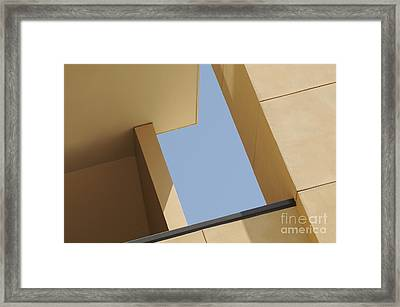 Angles Framed Print by Dan Holm