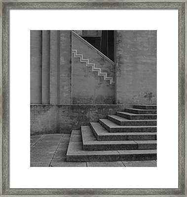 Angles Framed Print by David Mcchesney