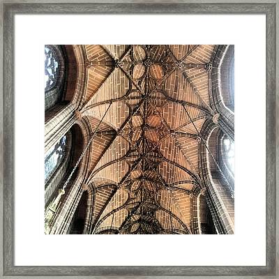 #anglican #cathedral #church #liverpool Framed Print by Abdelrahman Alawwad