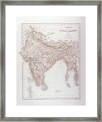 Anglo-indian Empire Framed Print by Fototeca Storica Nazionale