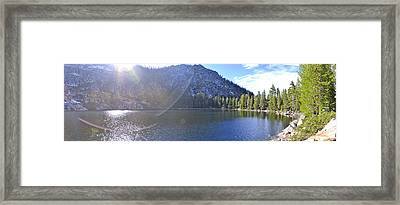 Angora Flare Framed Print