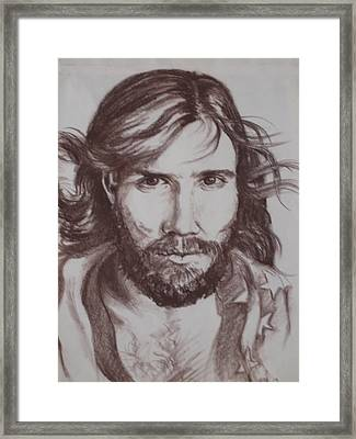 Angry American Framed Print by Barbara Prestridge