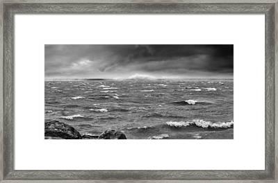 Angry Lake 1 Framed Print