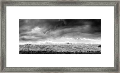 Angry Lake 2 Framed Print