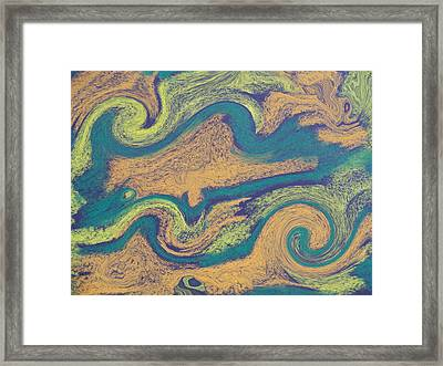 Angry Seas Framed Print by Tom Nettles