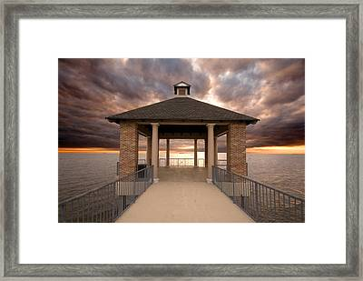 Angry Waters Framed Print by Pixel Perfect by Michael Moore