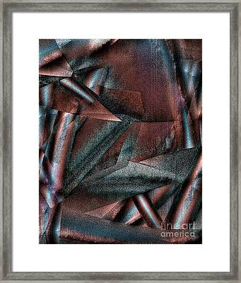 Angst II Framed Print by Richard Ortolano