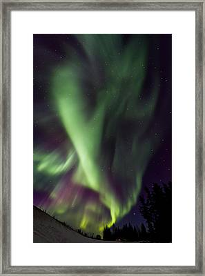 Anhcor To The World Framed Print by Maik Tondeur