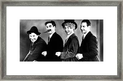 Animal Crackers, Chico Marx, Groucho Framed Print