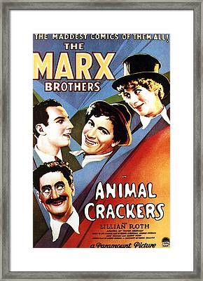 Animal Crackers, From Bottom Left Framed Print by Everett