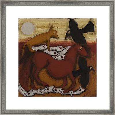 Animal  Dream Framed Print by Sophy White