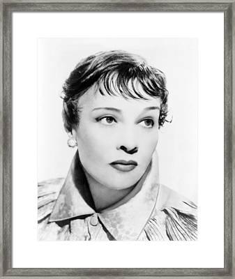 Anita Loos 1893-1981 American Novelist Framed Print by Everett