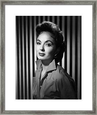 Ann Blyth, 1953 Framed Print by Everett