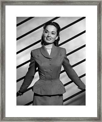 Ann Blyth, Ca. 1940s Framed Print by Everett