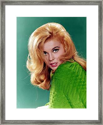 Ann-margret, 1960s Framed Print by Everett