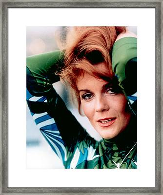 Ann-margret, In A Pucci-style Print Framed Print