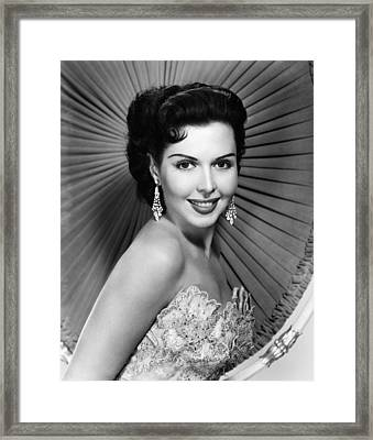 Ann Miller, Ca. Late 1940s Framed Print by Everett
