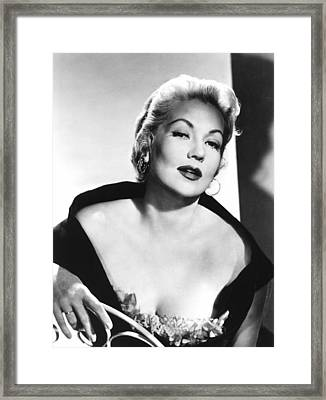 Ann Sothern, Nbc, 1957 Framed Print