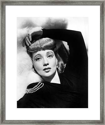 Ann Sothern, Portrait Framed Print by Everett