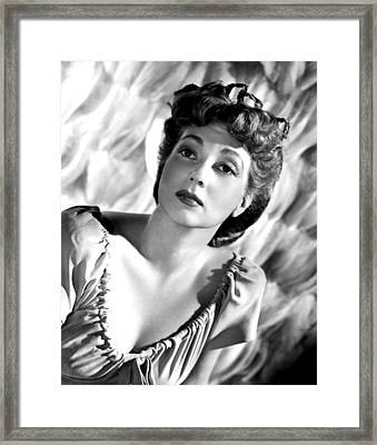 Ann Sothern, Publicity Photo Framed Print by Everett