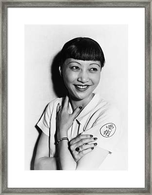 Anna May Wong, Ca. Mid-1930s Framed Print
