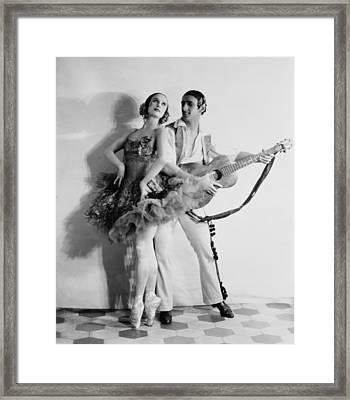 Anna Pavlova 1885-1931 Dancing Partner Framed Print by Everett