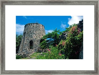 Annaberg Ruins Framed Print