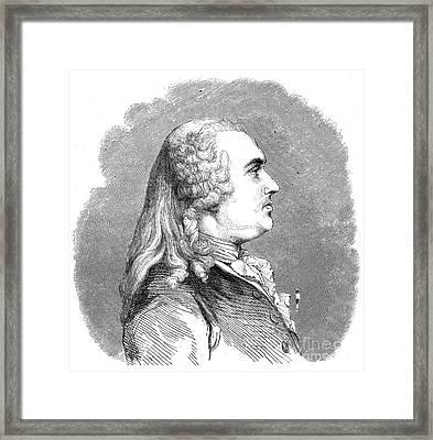 Anne Robert Turgot Framed Print by Granger