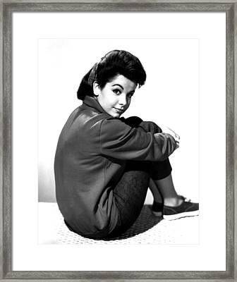 Annette Funicello, Portrait Framed Print by Everett