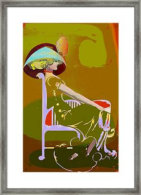 Annie Framed Print by Charles Shoup