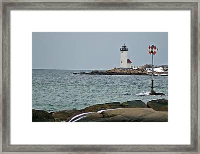 Annisquam Lighthouse Framed Print