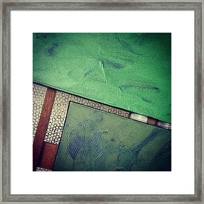 Another Abstract Photo With Abstract Framed Print