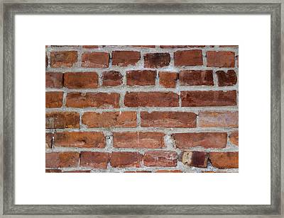 Another Brick In The Wall Framed Print by Heidi Smith