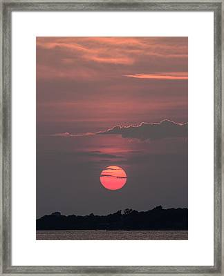 Another Day Down Framed Print