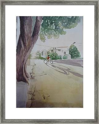 Another Day Has Passed. Framed Print by Vuong Anh Tuan