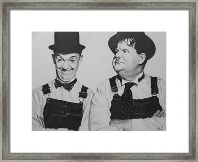 Another Fine Mess... Framed Print by Mike OConnell