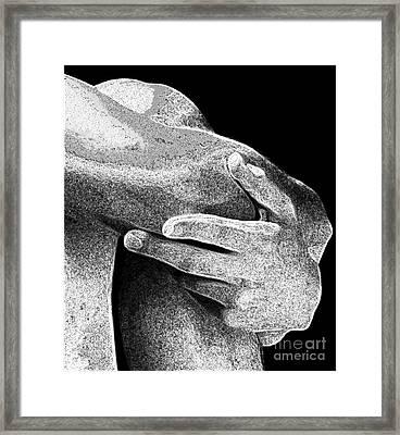 Another Left Hand Framed Print by Robert D McBain