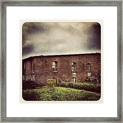 Another One Of The Mill #building Framed Print