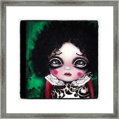 Another Painting By Me #abrilandrade Framed Print by  Abril Andrade Griffith