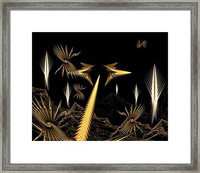 Another Place Another Time Framed Print by Ricky Kendall