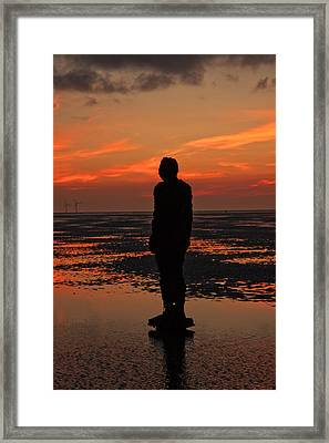 Framed Print featuring the photograph Another Place by Paul Scoullar