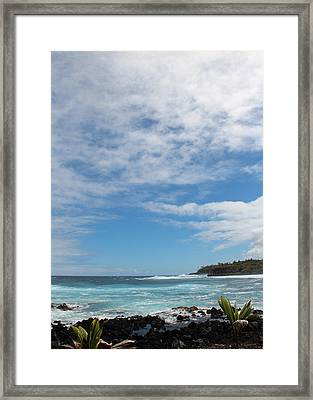 Framed Print featuring the photograph Another Sunny Sunday In Hawaii by Kerri Ligatich