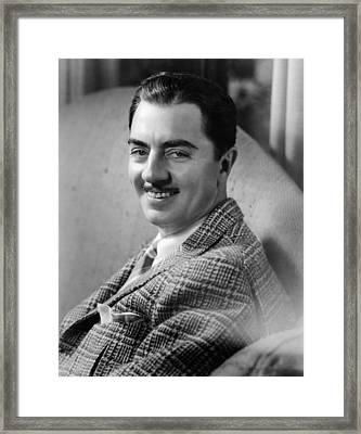Another Thin Man, William Powell, 1939 Framed Print
